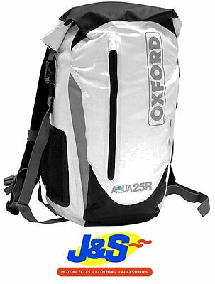 Oxford Aqua25R Ol931 Rucksack Backpack Motorcycle Back Pack Ruck Sack Aqua-25-R
