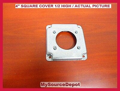 """Thomas And Betts, Rs-13, 4"""" Square Cover, 1/2 High, Dryer, Range, 30/50"""