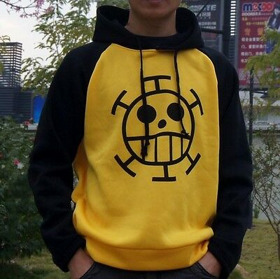 Anime ONE PIECE Trafalgar·Law Cosplay Sweater Hoodie Death Surgeon Thick Winter