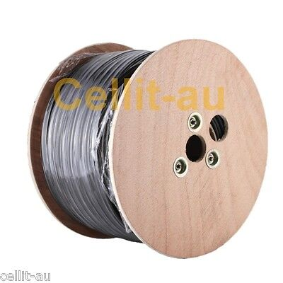 LL195 100m REEL COAXIAL ANTENNA CABLE. Same as LMR200 RG58. 100mtr LOW LOSS COAX