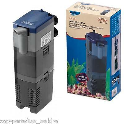 Innenfilter / Pumpe / Aquarium Filter Hi-Tech bis 400 l/h - Aquafilter AFI 250