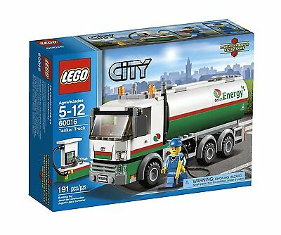 LEGO 60016 City Tanker Truck New/Sealed Free US Shipping