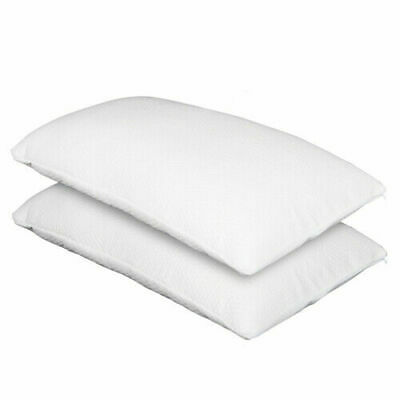 2X Pack Deluxe Visco Elastic Memory Foam Pillow Home Hotel Bed 13cm Thick Medium