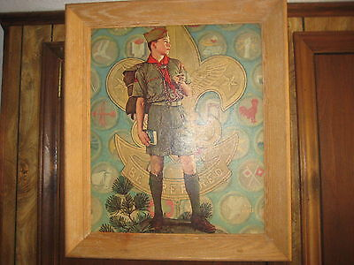 Tomorrow's Leader, Norman Rockwell Framed Print