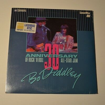 BO DIDDLEY with ALL-STAR JAM - LIVE 30th anniversary - 1997 US LASERDISC