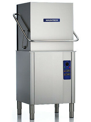 Washtech by Moffat XP Commercial Hood/Pass Through Dishwasher Cafe Restaurant