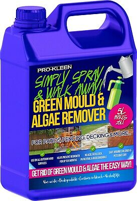 Pro-Kleen Patio Cleaner Moss Killer 5L Mould Algae Remover Drive Magic Decking