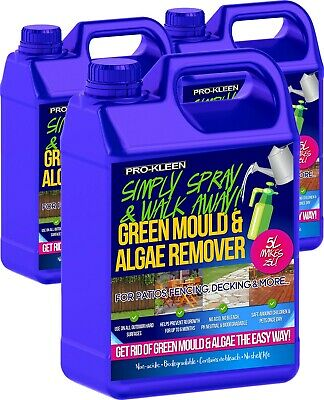 Patio Cleaner Decking Fencing Green Mould Algae Remover Drive Path Magic