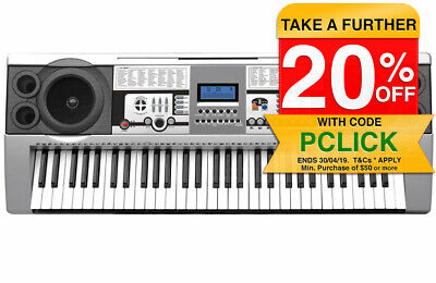 Lenoxx 61 Keys Digital Music Electronic keyboard/Electric Piano/Power Adaptor