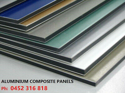 1224 x2440mm Alucobond 3mm Aluminium Composite Panel Trailer Cladding Building