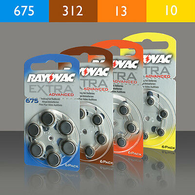 Hearing Aid Batteries Type 10 13 312 675 Also For Hansaton