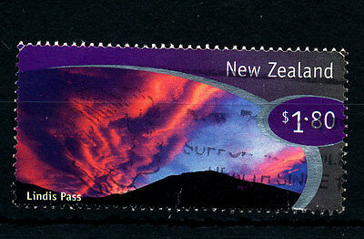 B422  NEW ZEALAND  1998  SG2187  $1.80 LINDIS PASS   USED