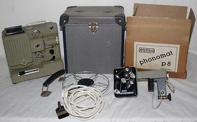 Vintage Collectible Eumig Wien Type P8 Phonomat Movie Projector - PL-4144