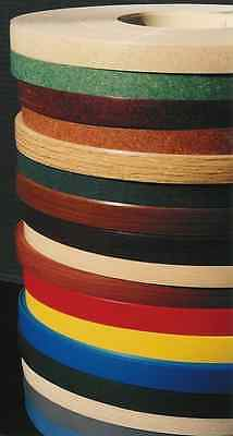 "Panolam PVC edgebanding colors in 15/16"" x 120"" rolls with no adhesive 1/50th"""