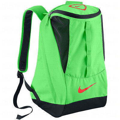 Nike 2013 Tiempo Shield Soccer Backpack SCHOOL GYM Bag ORIGINAL New Lime Green