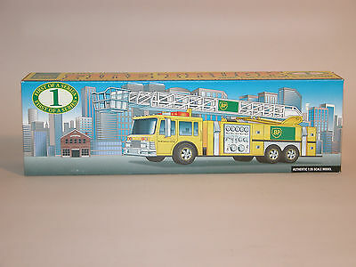 1996 BP AERIAL TOWER FIRE TRUCK 1st OF A SERIES COLLECTORS EDITION 1:35 SCALE