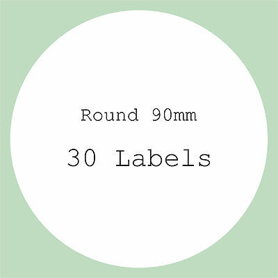 5 A4 Sheets Blank Labels Round Square Rectangle Stickers Wedding Craft Stickers