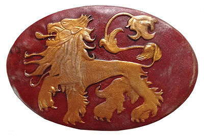 Pin Badge Metal - Game of Thrones - Lannister Shield - High Quality