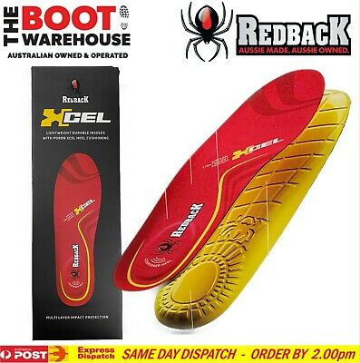 Redback Shoes & Work Boots. Extra Comfort Insoles. Original Replacement Footbeds
