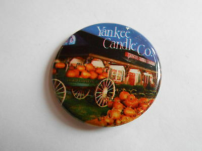 Cool Vintage Yankee Candle Company Advertising Pinback