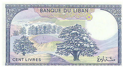 1983 100 Livres Banknote - Lebanon - Uncirculated Pick 66C
