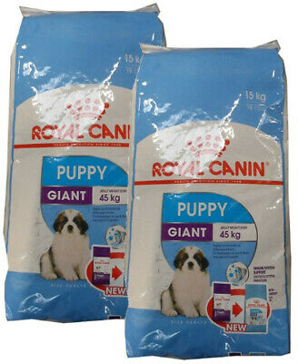 2x15kg Royal Canin Giant Puppy  Cane