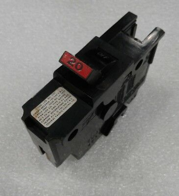"20 - NA20 Federal Pacific NA Stab-Lok Breaker 1P 20 Amp 120V ""2 YEAR WARRANTY"""