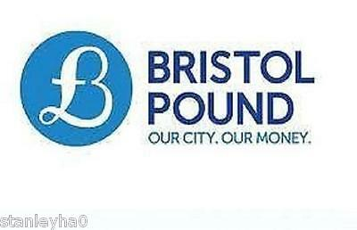 Bristol City Pound - Local Currency - 1st & 2nd Issue - Must For Collectors UNC