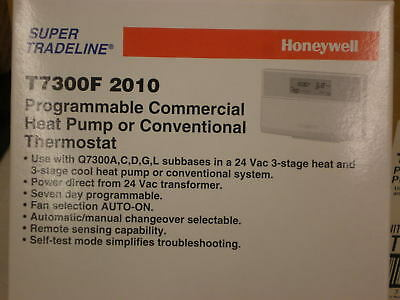 Honeywell Commercial Programmable Thermostat T7300F2010  T7300F 2010