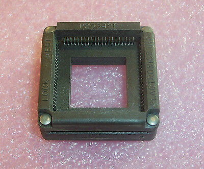 P2084Sp Plastronics Lock Nest 84 Pin Plcc Test And Burn-In Socket Open Top