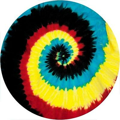 Tie Dye #1 Spare Tire Cover Jeep RV Camper VW Trailer etc(all sizes available)
