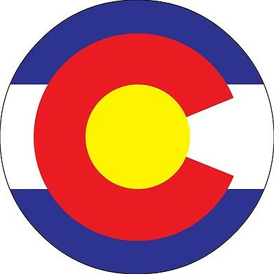 Colorado Flag Spare Tire Cover Wheel Cover Jeep RV Camper(all sizes available)