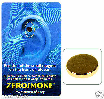 Zerosmoke Not Cigarettes Health Magnet Auricular Therapy Stop Smoking Quit