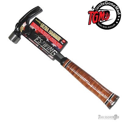 Estwing E19S Ultra Hammer Straight Rip Claw Framing Hammer Leather Handle New
