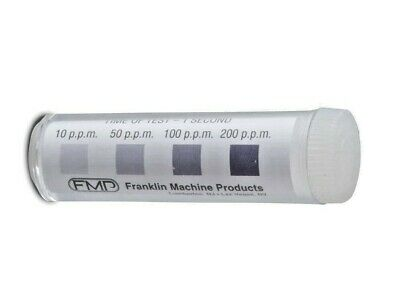 Precision Chlorine Litmus Test Paper, 100 Strips - Restaurant Bakery Coffee Shop