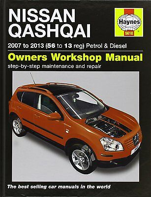 HAYNES Nissan Qashqai Petrol & Diesel Service and Repair Manual: 2007-2013 5610