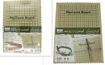 Macrame Work Boards - New Design - large & small