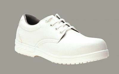 Safety Fw80 Food Industry Chefs Kitchen Catering Hospital White Anti Slip Shoe