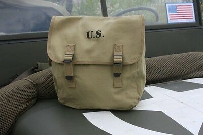 US Musette Bag M36,US Army WW2 Repro Willys Jeep