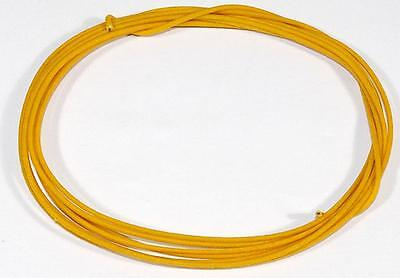 8' 22 Gauge YELLOW Cloth Push Back Wire for Vintage Guitars - Gavitt Brand