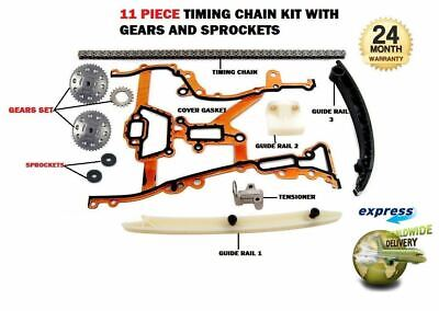 For Opel Corsa B C 1.0 1.2 1.4 Twinsport 1996--  Timing Cam Chain Kit With Gears