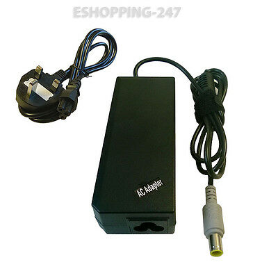 90W Adapter for Lenovo IBM Thinkpad T400 T500 Laptop Charger POWER CORD E093