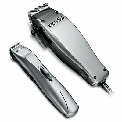 Andis 20140 Hair Clipper / Trimmer 23pc Combo Kit Pack Set - Haircut Cutting Cut