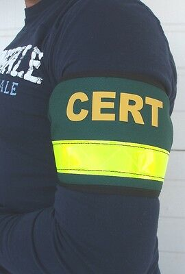 CERT Arm Band, Custom Reflective, Safety, Arm Band