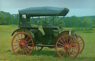 1908 International Harvester Auto Buggy - Transportation Automobile Car Postcard