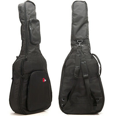 Rio 4/4 39'' Full Size Classical 10mm Padded Acoustic Guitar Gig Bag Carry Case