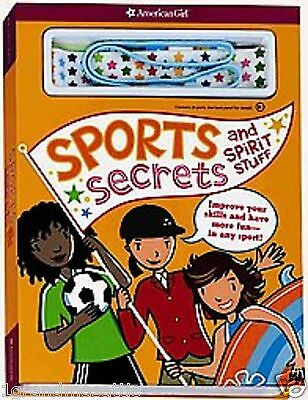 American Girl Sports Secrets and Spirit Stuff Brand New Poster Stickers Last One