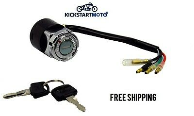 Replacement Assembly Switch Ignition Key Set for Honda CT110 Postie Bike CT 110