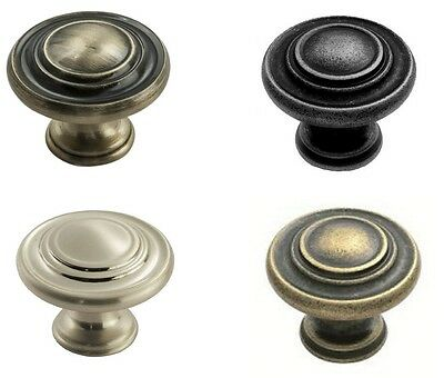 FTD Traditional Pattern Cabinet Cupboard Kitchen Wardrobe Door Knob Handle 34mm