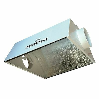 PowerPlant Aero Wing Pro In-Line Air Cooled Aluminium Reflector Grow Room 600w